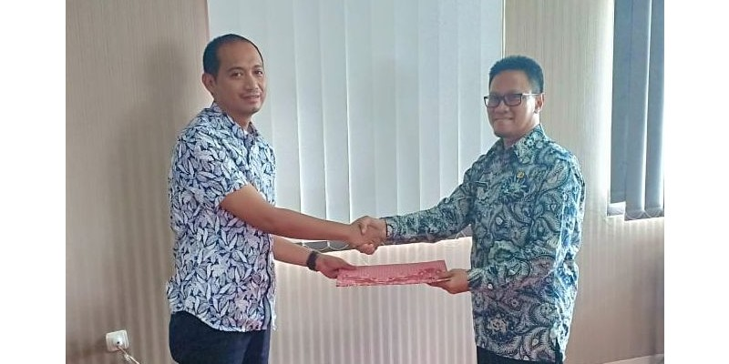 Acara Serah Terima Jabatan Kepala Dinas Tata Ruang dan Permukiman Kabupaten Purwakarta