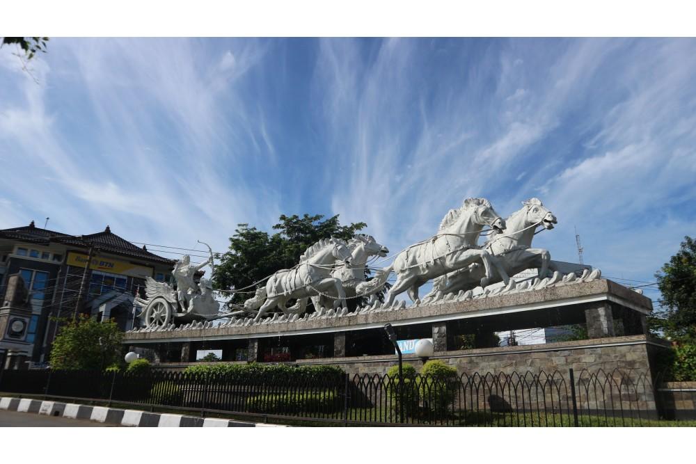 Taman patung arjuna