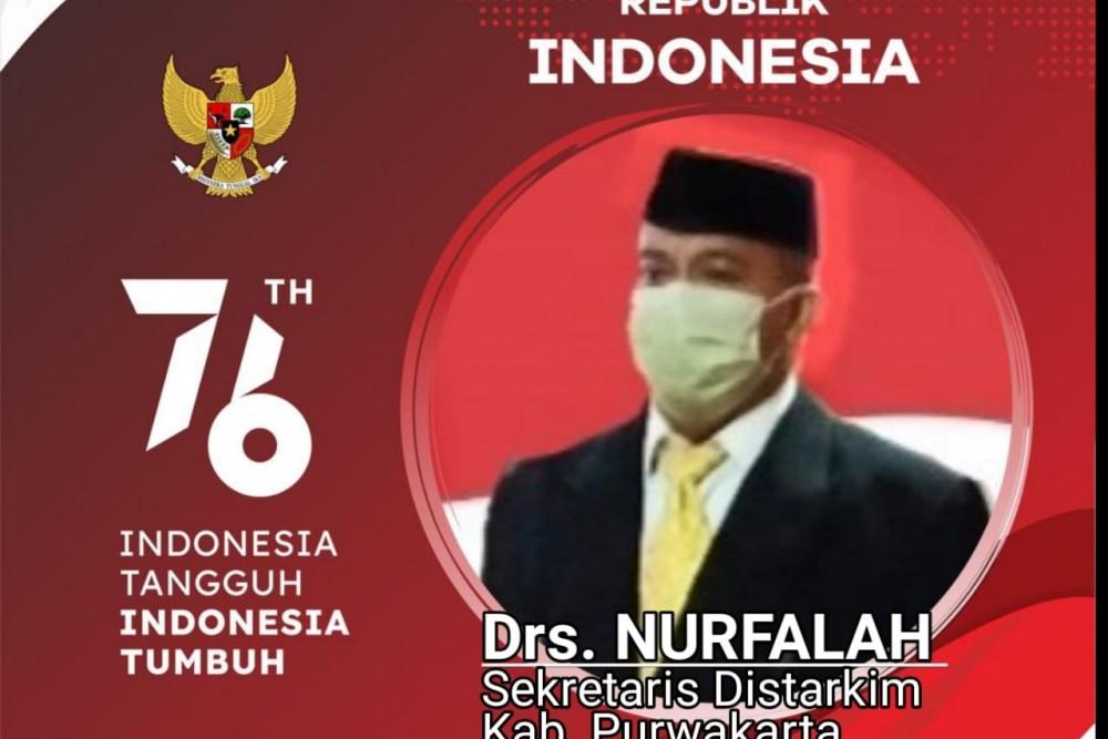 Sekretaris Dinas Tata Ruang dan Permukiman, Drs. Nur Falah